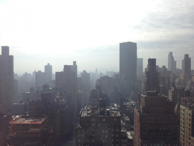 A View of Downtown Manhattan from My Office