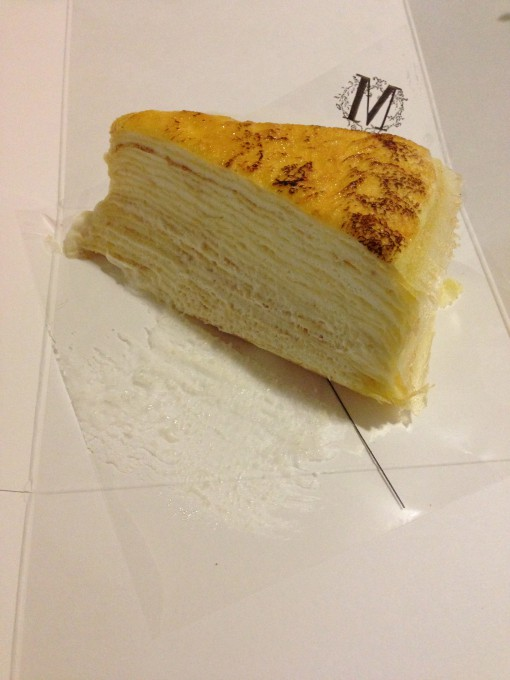 Original Mille Crepe Cake at Lady M Cake Boutique