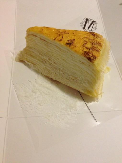Original Mille Crepe Cake at Lady M Cake Boutique