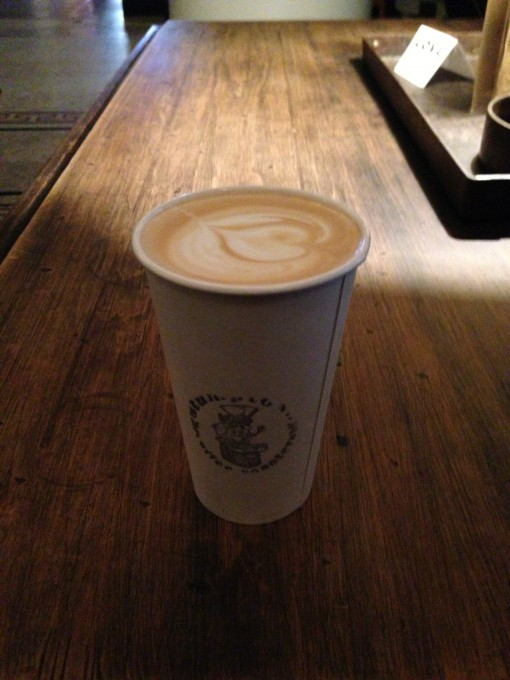 Latte from Stumptown