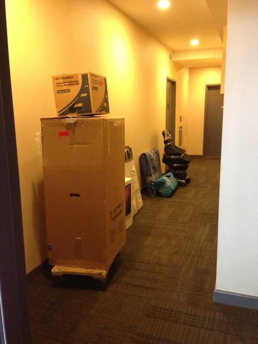 Stuff in the Hallway