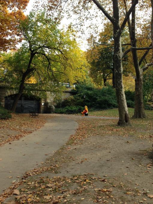 Big Bird in a park @ Central Park, New York, NY